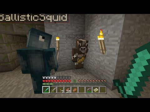Minecraft Xbox - The Infected Temple - Redstone Puzzles - Part 5