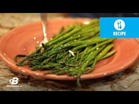 Garlic Roasted Asparagus   Healthy Recipes