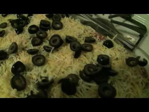 7-Layer Bean Dip Recipe -- FINGER-LICKING GOOD!!!