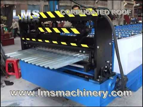CORRUGATED SHEET ROOF ROLL FORMING MACHINE