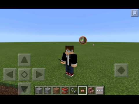 How to get your minecraft skin head in minecraft pe (NO COMPUTER!!!!) (Pacthed) (14.0)