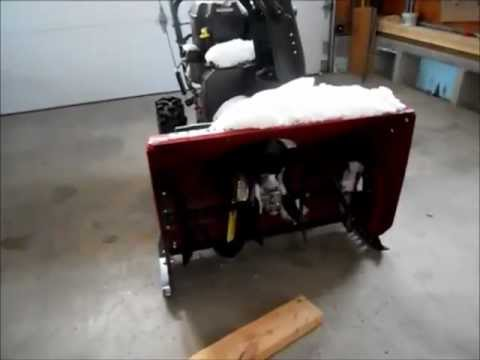 Replacement Snow Blower Skids