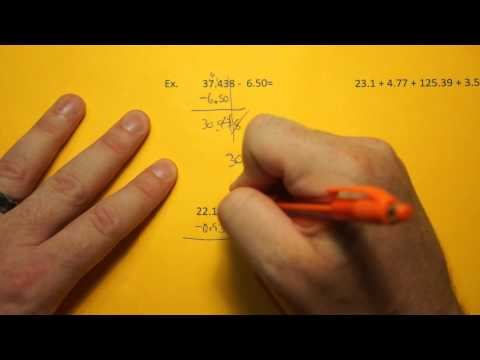 Addtion and Subtraction using Significant Figures (sig figs)