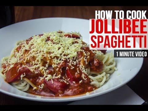 How to Cook: Filipino Spaghetti Aka Jollibee style Recipe