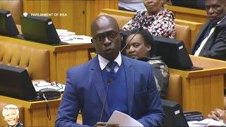Drama In Parliament - DA vs Malusi Gigaba On His USA Roadshow