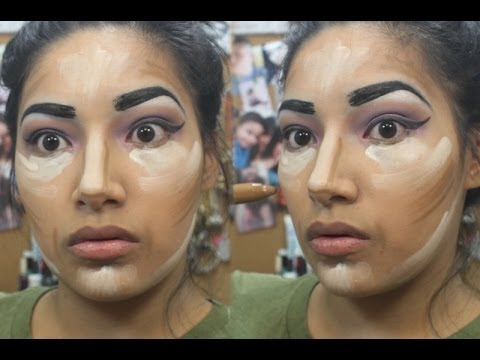 How Too Contour & Highlight & Get Fuller Lips Without Surgery