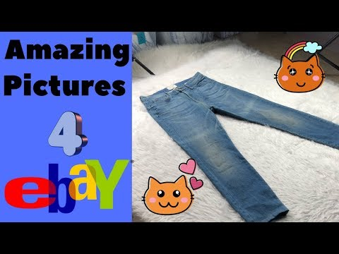 eBay Photography How to Photograph Clothes To Sell Online