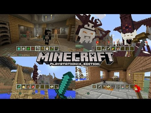 Let's Play Minecraft PlayStation 4 Tutorial