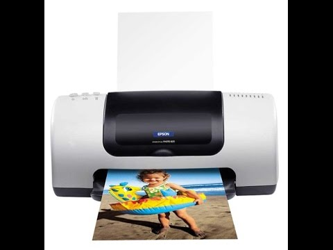 How to Clean an Epson Inkjet Printer Print-Head