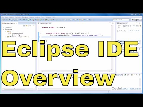 09 - Overview of the Eclipse IDE in Java Programming