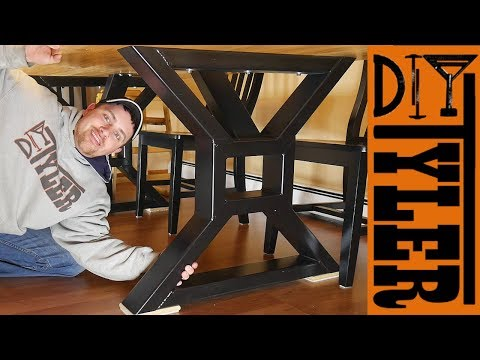 HomeMade Farmhouse Table Legs | Metalworking