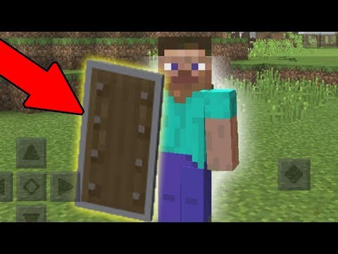 SHIELDS in Minecraft Pocket Edition - NEW MCPE Update 1.3