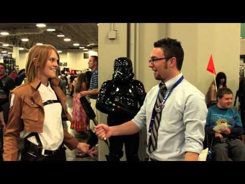 Anime Cosplay at Salt Lake City ComicCon FanX 2014