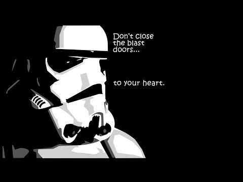 Pepakura Stormtrooper Helmet Timelapse Part 3