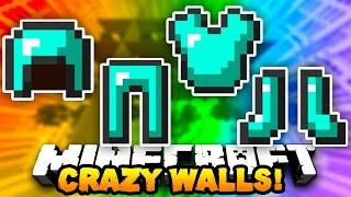"Minecraft CRAZY WALLS ""FULL DIAMOND BEAST!"" #2   w/ PrestonPlayz & Landon"