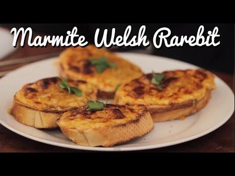 Marmite Welsh Rarebit - Crumbs