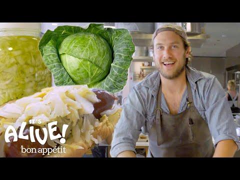 Brad Makes Sauerkraut   It's Alive   Bon Appétit