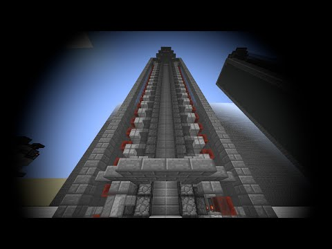 Minecraft Tutorial: Elegant, Fast & SMP friendly Slimeblock-Piston Elevator