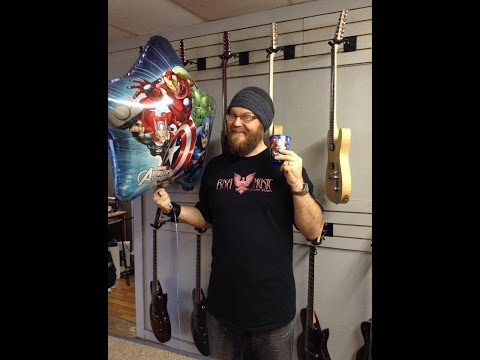 RNA Music Vlog 32 Day in the Life BIRTHDAY Edition! Guitar Store!