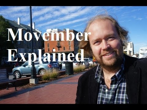 Movember Explained - Check Your Balls for No Shave November