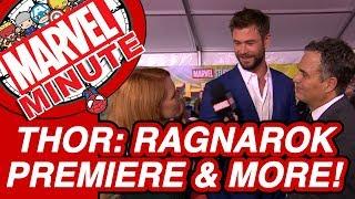 Marvel Studios Thor Ragnarok Premiere More Marvel Minute