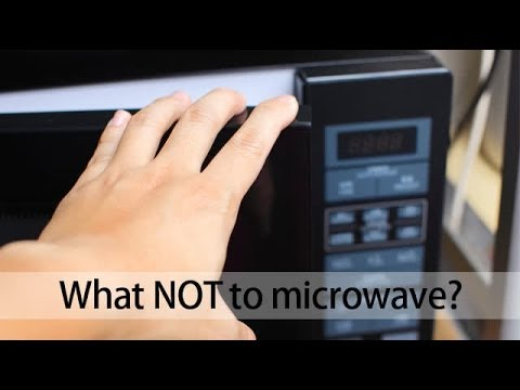 What not to microwave