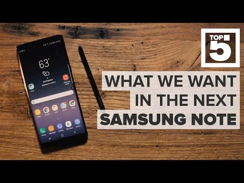 Samsung Galaxy Note 9: The features it needs to succeed (CNET Top 5)