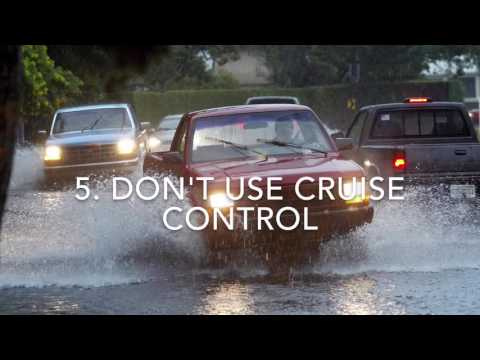 Video: 9 tips to drive safe in the rain