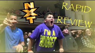 Rapid Review ~ NXT LOWELL