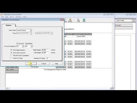 Financial Statement Rollups in Sage 50/Peachtree Accounting