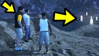 WHAT HAPPENS IF THEY MEET AT THE GHOST? (GTA 5)
