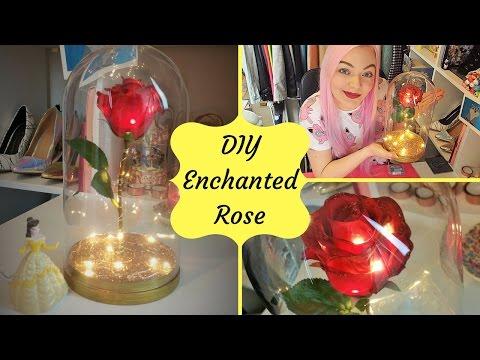 DIY Enchanted Rose | Beauty & the Beast