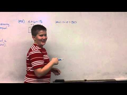 How not to solve an Equations....