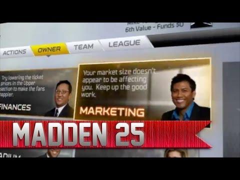 Madden 25 Franchise Mode Details