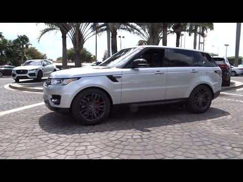2017 Land Rover Range Rover Sport Miami, Aventura, Fort Lauderdale, Broward, Miami Beach, FL NHA1452