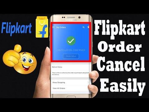 Flipkart Order Cancel - How to Cancel Order on Flipkart