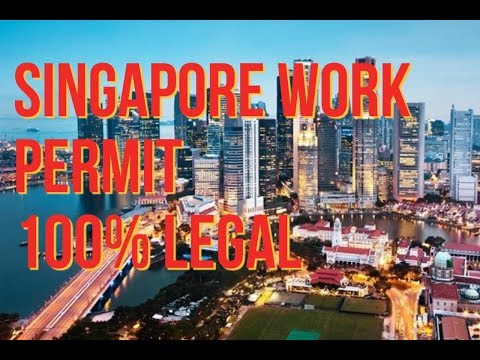 Job in Singapore work permit salary 35000 to 55000₹ ECNR passport only