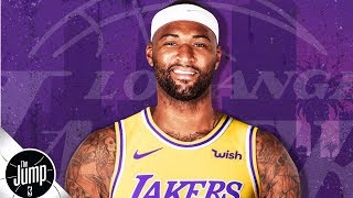 DeMarcus Cousins, Rajon Rondo sign with the Lakers   The Jump