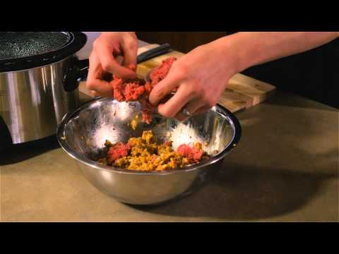 Crock-Pot Meatloaf With Green Peppers : Tasty Dishes