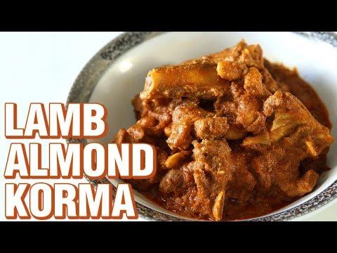 Badami Gosht Korma Recipe | How to Make Lamb Almond Korma | Mutton Recipe | Smita Deo