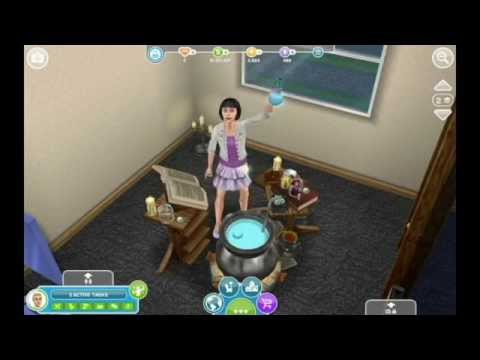 Sims FreePlay - Potion Brewing [Hobby Video]