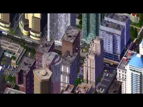 SimCity 4 Rail Corridor