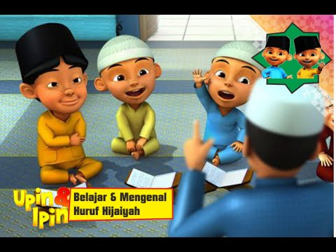 Upin Ipin Belajar Mengaji Al Quran Huruf Hijaiyah Alif Ba Ta
