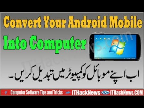 How To install windows 7/8/10 Android Mobile Into Computer