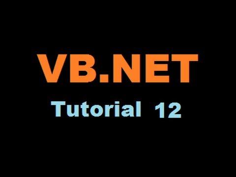 VB.NET Tutorial 12 : How to use Timer Control in Visual Basic .NET ( VB.NET)