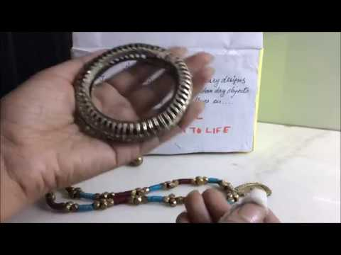 How to Clean Dokra Jewelry