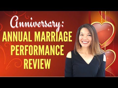 Annual Anniversary Marriage Performance Review