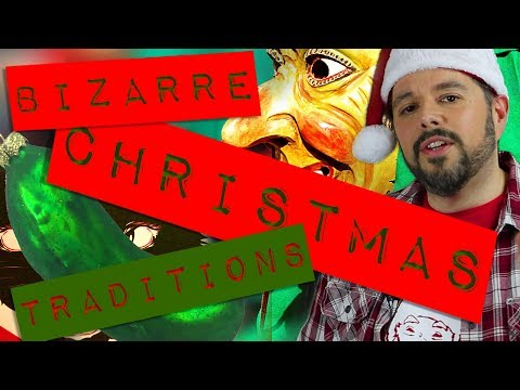 12 Bizarre Christmas Traditions from Around the World!