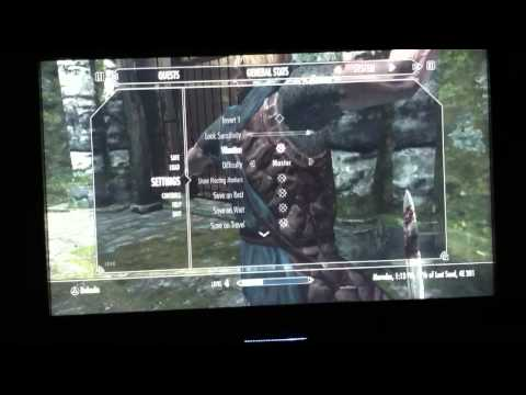 Skyrim Glitch: FASTER how to get lv 100 sneak
