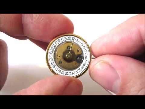 ETA 255.462 / 255.461 Analogue Quartz Watch Movement